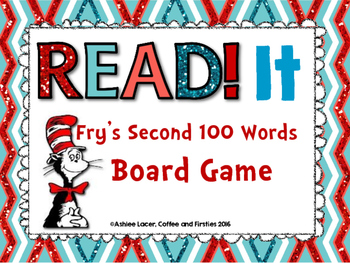 Dr. Seuss Themed Fry's 2nd 100 Board Game