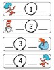 Dr. Seuss Themed Number Sequencing