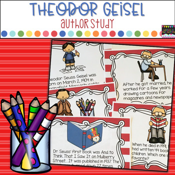 Theodor Geisel Author Study