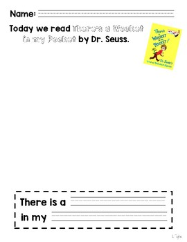 Dr. Seuss- There's a Wocket in my Pocket