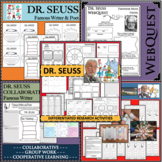DR. SEUSS Research BUNDLE Biography Graphic Organizers DIFFERENTIATED!