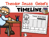 Theodor Seuss Geisel {Timeline of Events} for Kindergarten and First Grade