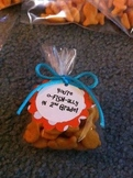 Dr. Seuss Treat Labels O-fishally Welcome Treat