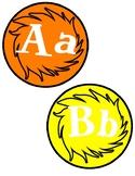 Dr. Seuss Truffula Tree Word Wall Labels