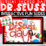 Dr. Seuss Virtual Themed Day Activities