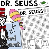 Theodor Geisel (Dr. Seuss) Vocabulary Word Search Activity