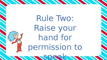 Dr.Seuss WBT Rules Plus One
