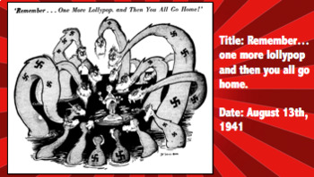 Dr  Seuss WWII Political Cartoons