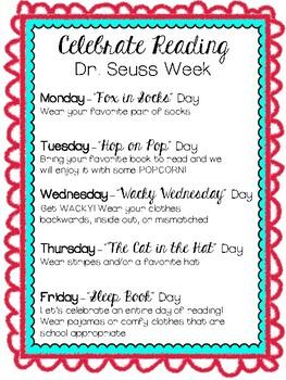 Dr. Seuss Week 3.0