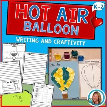 Dr. Seuss Week Activities - Hot Air Balloon Creative Writi