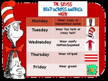 Dr. Seuss Week Attire
