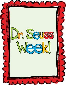 Dr. Seuss Week Fun!
