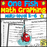 RHYME TIME Week Graphing fish /  Math