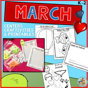 Dr. Seuss Week Inspired March Activities, Centers and Ideas