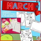 March Activities, Centers and Ideas