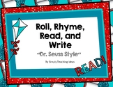 Dr Seuss Week Roll, Read, and Rhyme