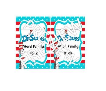 Dr. Seuss Word Family Mini Hat Books