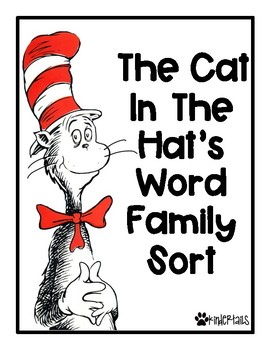 The Cat's Word Family Sort