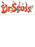 Dr. Seuss Word Wall Words