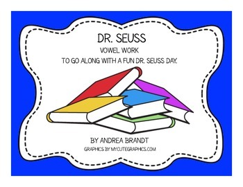 Dr. Seuss Word Work - Primary Grades