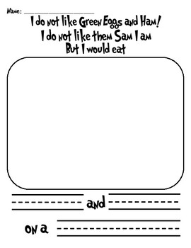 Dr. Seuss Worksheets & Giving Tree