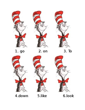 Dr. Seuss Write the Room