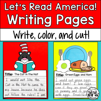 Dr. Seuss Read Across America Writing Pages