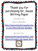 Dr. Seuss Writing Paper