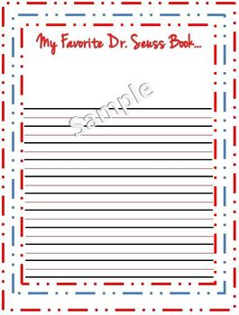 Dr. Seuss Writing Prompt