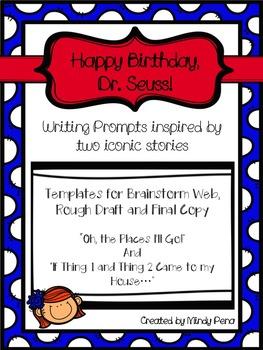 Dr. Seuss Writing Templates