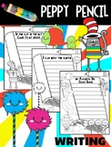 Dr. Seuss Writing Prompts - Peppy Pencil, Read Across America Activities