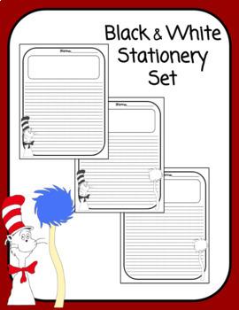 Dr. Seuss Writing Stationery Set