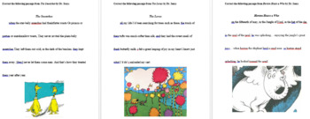 Dr. Seuss Writing and Grammar