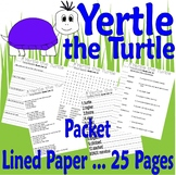 Yertle the Turtle Reading Comprehension Book Companion Dr Activity Packet Seuss