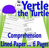 Yertle the Turtle : Reading Comprehension & Multiple Choice Questions