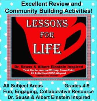 Dr. Seuss and Albert Einstein Inspired Lessons for Life