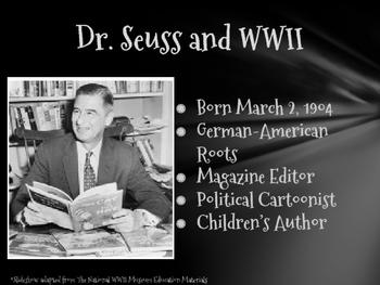 Dr. Seuss and Nazi Political Cartoons