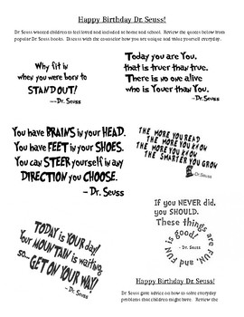 Dr. Seuss for Counselors