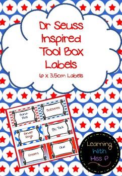 Dr Seuss inspired Teacher Toolbox