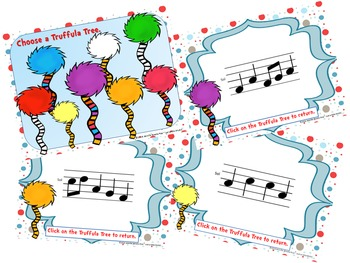 Speak for the Trees Melody Reading Practice BUNDLE