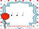 Dr. Seuss inspired Truffula Trees Rhythm Reading Practice {ta-ah}