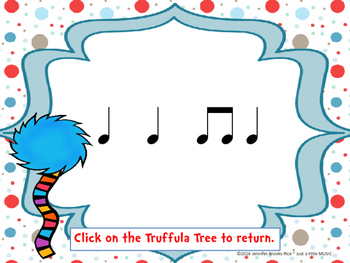 Speak for the Trees Rhythm Reading Practice {ta titi}