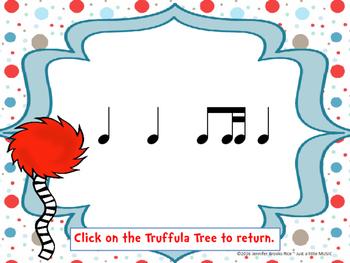 Speak for the Trees Rhythm Reading Practice {ti tika}