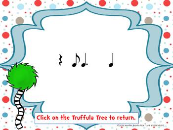 Speak for the Trees Rhythm Reading Practice {ti tom}
