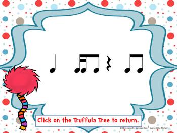 Speak for the Trees Rhythm Reading Practice {tika ti}