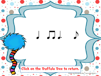 Speak for the Trees Rhythm Reading Practice {tom ti}