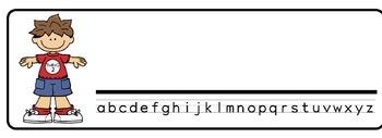 Dr. Seuss kids Theme Desk Nameplates (Set of Four)