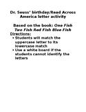 Dr. Seuss letter match game
