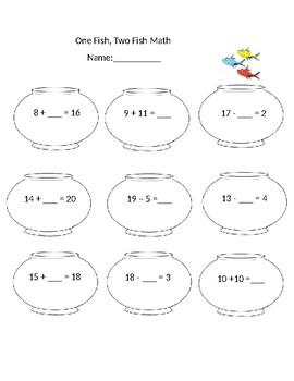 Dr. Seuss math
