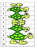 GOOD DOCTOR numbers 7 puzzles hands on ESL hands on centers skip counting turtle